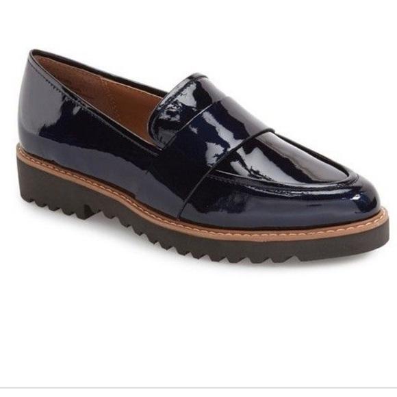 31e896a39ba Halogen Shoes - Halogen Emily Women s Navy Loafers Size 7.5M